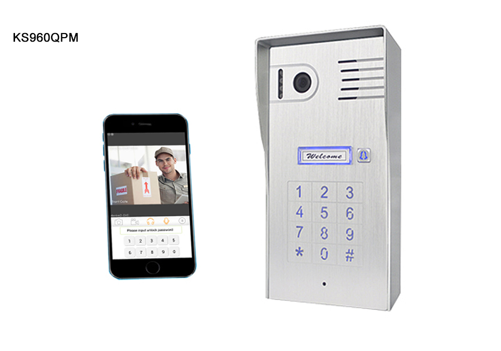 Stand Alone WiFi Intercom With Built-in Keypad